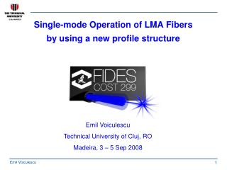 Single-mode Operation of LMA Fibers  by using a new profile structure