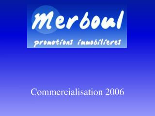 Commercialisation 2006
