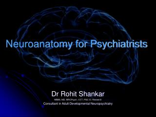 Neuroanatomy for Psychiatrists
