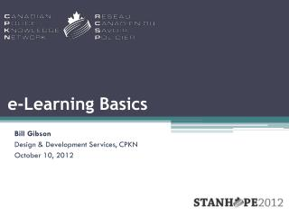 e-Learning Basics