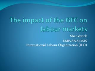 The impact of the GFC on labour markets