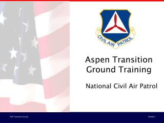 Aspen Transition Ground Training