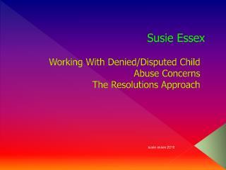 Susie Essex