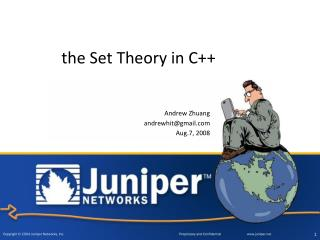 the Set Theory in C++
