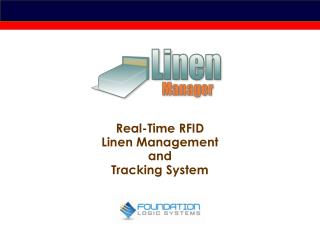 Real-Time RFID Linen Management and  Tracking System