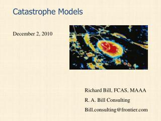 Catastrophe Models