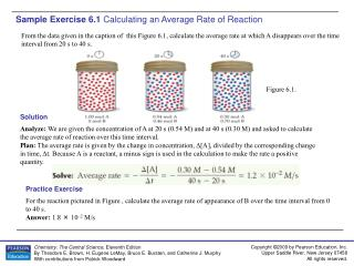 Sample Exercise 6.1  Calculating an Average Rate of Reaction