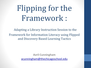 Library User Instruction and Information Literacy