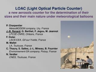 LOAC (Light Optical Particle Counter)