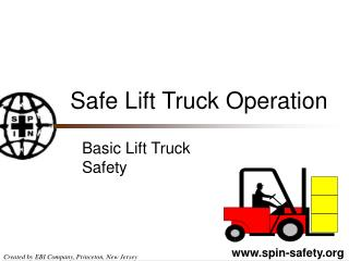 Safe Lift Truck Operation