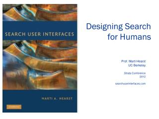 Designing Search for Humans