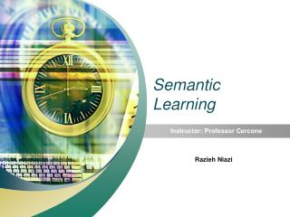 Semantic Learning