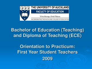 Practicum learning outcomes