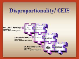 Disproportionality / CEIS