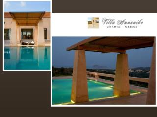 Villa Annaniko - Luxury Holiday Villas in Crete