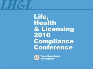 Compliance with Texas Agent Licensing Laws and Regulations