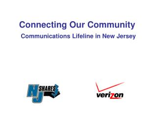 Connecting Our Community Communications Lifeline in New Jersey