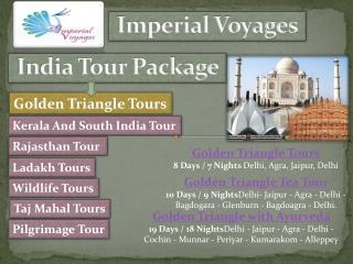 Travel Agents in India offers Best Holiday Packages