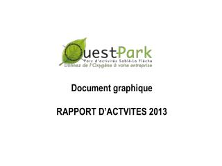 Document graphique RAPPORT D'ACTVITES 2013