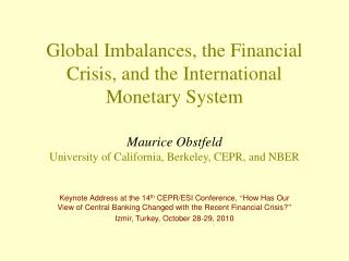 What links between imbalances and the financial crisis?