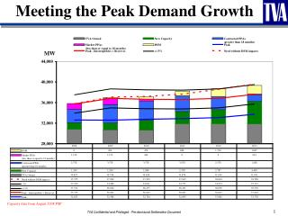 Meeting the Peak Demand Growth