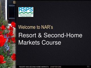 Resort & Second-Home Markets Course