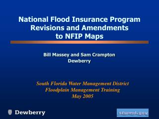 National Flood Insurance Program Revisions and Amendments  to NFIP Maps