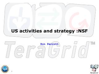 US activities and strategy :NSF