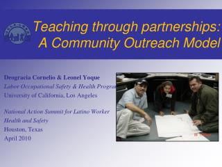 Teaching through partnerships: A Community Outreach Model
