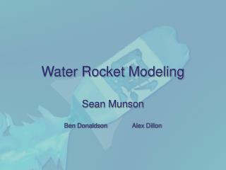 Water Rocket Modeling