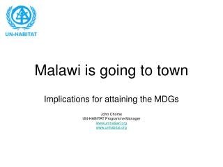 Malawi is going to town