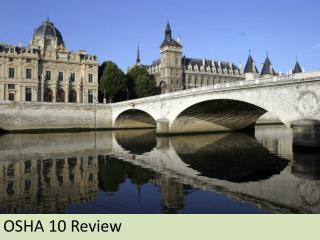 OSHA 10 Review