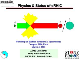 Physics & Status of eRHIC