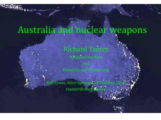 Australia and nuclear weapons