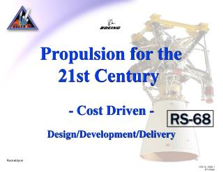 Propulsion for the 21st Century