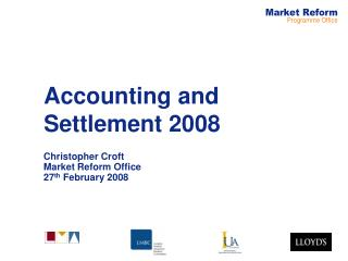 Accounting and Settlement 2008