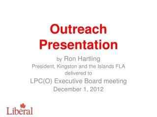 Outreach Presentation