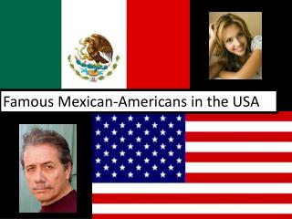 Famous Mexican-Americans in the USA