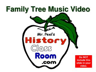 Family Tree Music Video