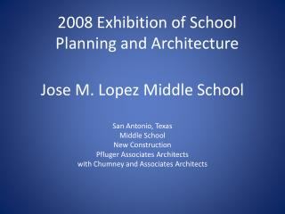 Jose M. Lopez Middle School