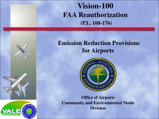 Emission Reduction Provisions for Airports
