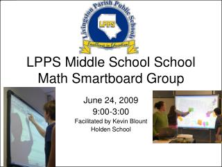 LPPS Middle School School Math Smartboard Group