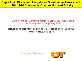 Rapid Lipid Biomarker Analysis for Quantitative Assessment of Microbial Community Composition and Activity