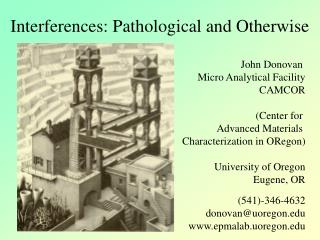 Interferences: Pathological and Otherwise