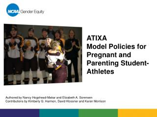 ATIXA  Model Policies for  Pregnant and Parenting Student-Athletes