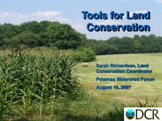 Tools for Land Conservation