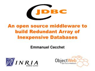 An open source middleware to build Redundant Array of Inexpensive Databases