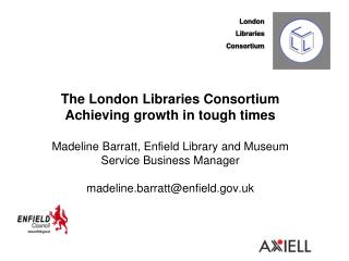 London Libraries  Consortium