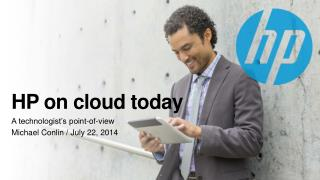 HP on cloud today