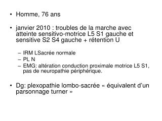 Homme, 76 ans